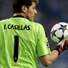 Living Legend - Iker Casillas (Image from AFP)