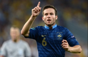 On Route to Palace - Yohan Cabaye (Image from AFP)