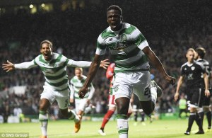 Celtic take a narrow 1 goal lead to Baku (Image from SNS)