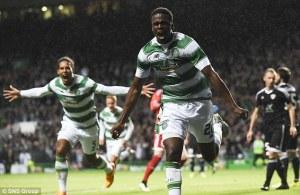 Celtic take a narrow 1 goal lead to Baku (Image from SNS)
