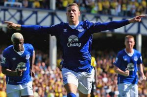 Barkley scores a screamer to pull Everton level  (Image from AFP)