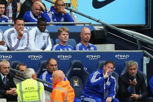 Terry's substitution led to the press speculating about the end of his career (Image from Getty)