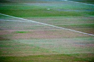The pitch will be problematic for both sides  (Image from Getty)
