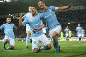Malmo knocked Celtic out of the Champions League (Image from Getty)