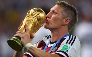 World Cup winning Bastian Schweinsteiger's arrival adds quality to United's midfield  (Image from Getty)