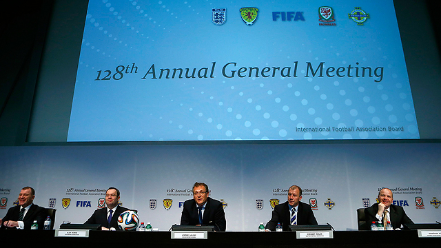 The IFAB - An uncertain future ahead (Image from PA)