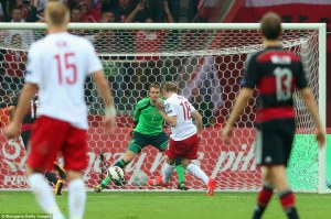 Poland's win over Germany has left the group wide open (Image from Bongarts/Getty)