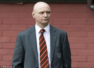 Dundee United owner Steven Thompson has received harsh criticism for the way the club dismissed McNamara (Image from sns)
