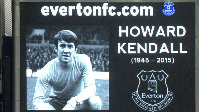 Howard Kendall who passed away on Saturday aged 69 (Image from EFC)
