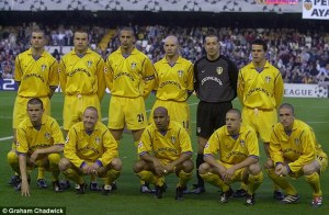 Leeds star studded 2001 team  (Image from Getty)