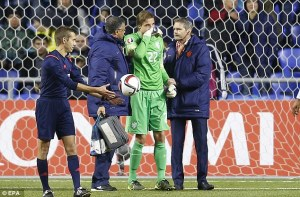 Blow for Newcastle as goalkeeper Tim Krul is ruled out for the season  (Image from EPA)