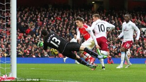 Ospina made several key saves for Arsenal last season  (Image from Mitchell Gunn/JMP/REX)