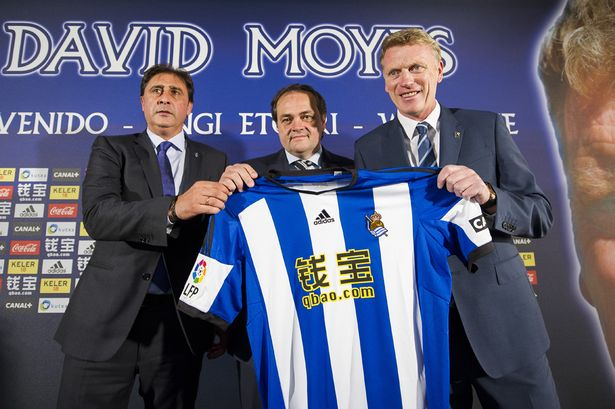 Moyes spell at Real Sociedad has ended only a year after it began (Image from Getty)