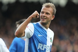 Getting the most out of Jordan Rhodes is crucial to Lambert's success (Image from PA)