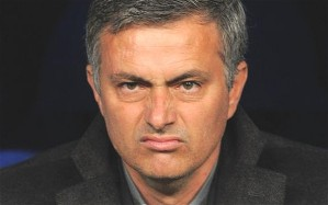 Jose Mourinho under pressure from the media (Image from Getty)