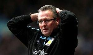 Lambert feels the pain at Villa (Image from AFP)