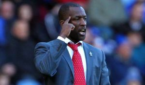 Chris Powell was sacked by Huddersfield this week (Image from PA)