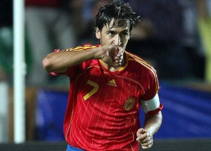 Real Madrid and Spain legend Raul retires (Image from Getty)