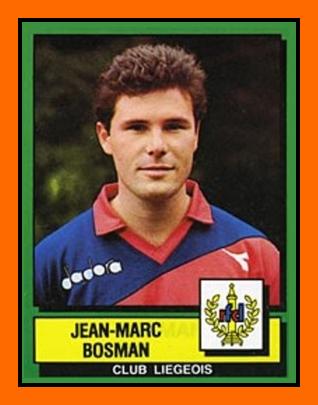 Jean-Marc BOSMAN PANINI RFC Liège 1989