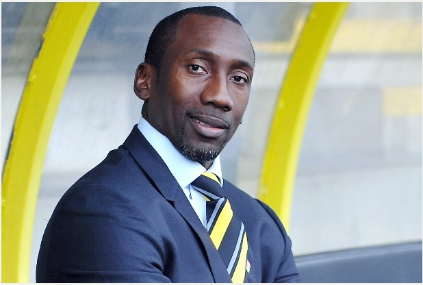 Burton Albion new manager, Jimmy Floyd Hasselbaink