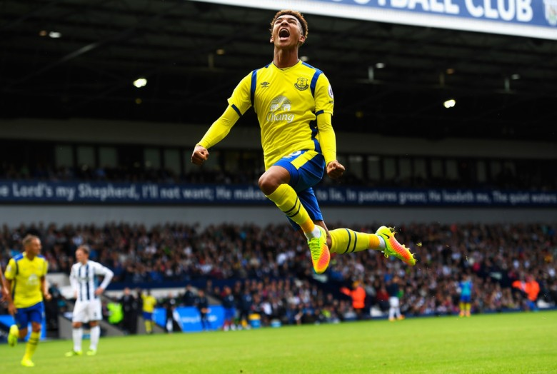 Mason Holgate is one of several new young players in the Everton squad (image from Tumblr)