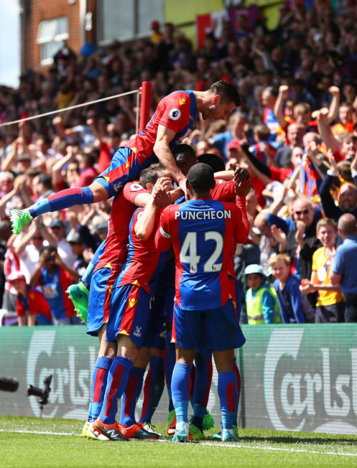 Palace celebrate survival for one more year (Image from Tumblr)
