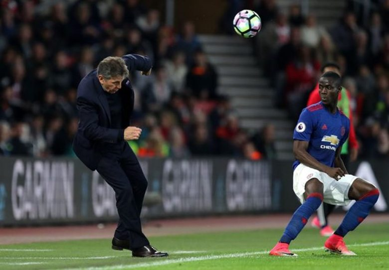 Puel was caught off guard by the ball and by life in the Premier League it would seem (Image from Tumblr)