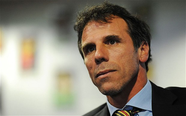 Supporter - Zola has backed calls for a 60 minute game (Image from Tumblr)