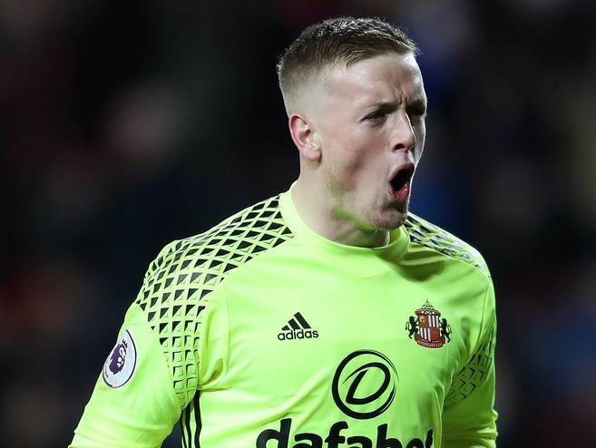 Pickford moves to Everton following an impressive debut season with Sunderland (image from Tumblr)