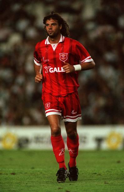 Negri during his time at Perugia (Image from Marco Negri)