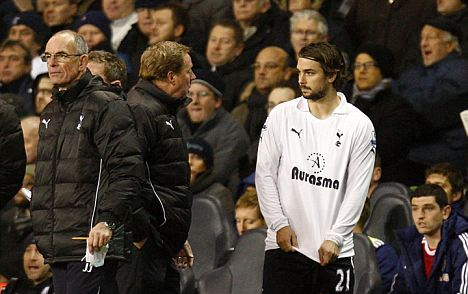 Midfielder Niko Kranjcar (right) has played for Redknapp at three different clubs (Image from Tumblr)