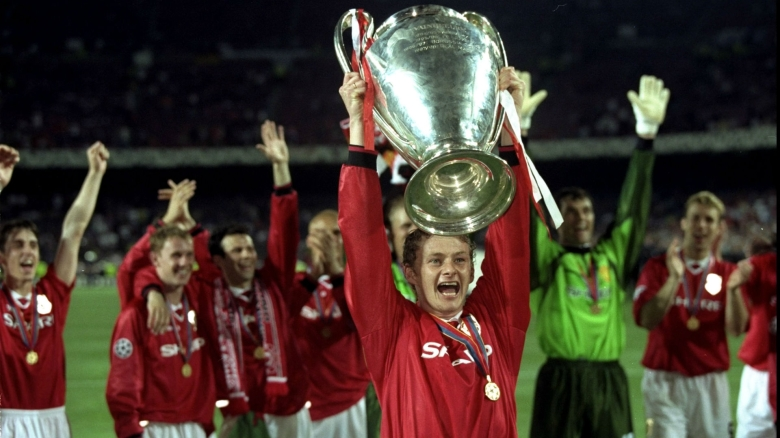 United fans hold Solskjaer in high regards after what he did in 1999 (Image from Tumblr)