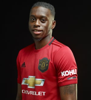 United new signing - Aaron Wan-Bissaka (Image from ManUtd)