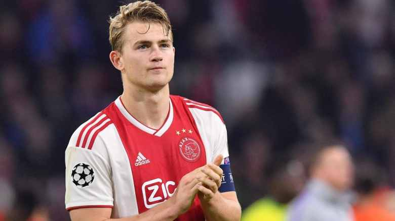 De Ligt has moved to Juventus for less money than Leicester wants for Maguire (Image from Tumblr)