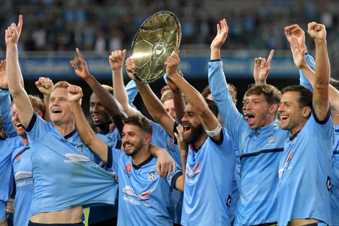 League champions Sydney FC (image from Tumblr)