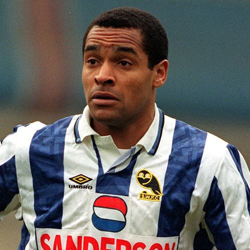 The Owls - Bright during his time at Sheffield Wednesday (Image from Tumblr)
