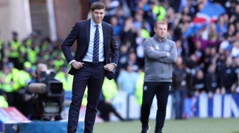 Rangers under Steven Gerrard have closed the gap on rivals Celtic (Image from Tumblr)