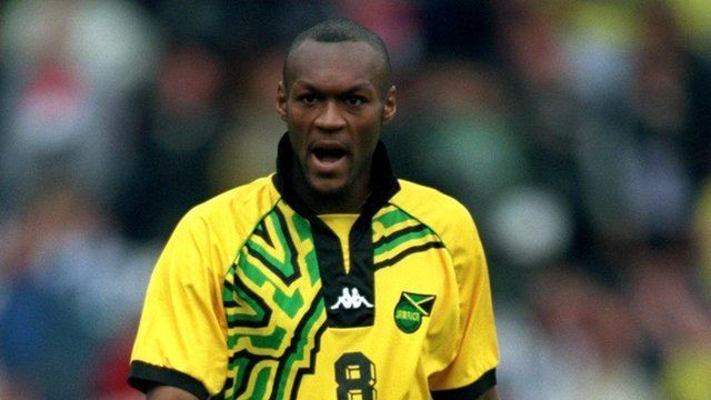 Gayle won 18 caps in total for Jamaica scoring twice (Image from Tumblr)